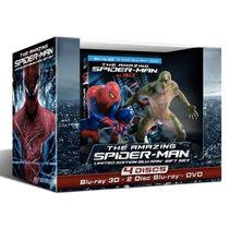 The Amazing Spiderman Limited 3d Bluray Hombre Araña Figuras