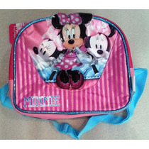 Minnie Mouse Disney Lonchera Con Envases Escolar Original