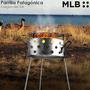 Parrilla Patagonica Simil Disco Arado Plancha Bifera 40 Cm