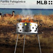 Parrilla Patagonica Disco Arado Plancha Bifera Balco 40 Cm
