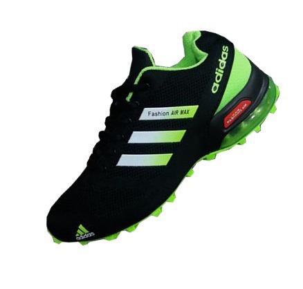 adidas negro con verde d3705c0f2f00b