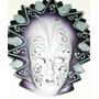 Máscaras Para Pared Miden 18cm X 13cm, Hermosas.