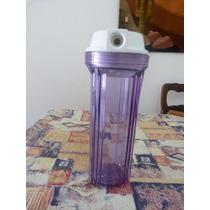 Carcasa Para Filtro Purificador Agua, Rosca 1/2. Universal