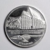 Rara Moeda Prata Da Alemanha Comemorativa 10 Marcos De 2001