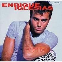 Cd Enrique Iglesias Remixes Globo Polydor Raro Solo En Ti