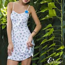Camisola Romance Lycra Estampada Extasis Lingeire G Promoção
