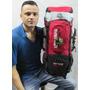 Mochila Camping Clio Trilha 55 Litros Impermeavel Ref:3101