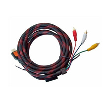 Cable Nylon Reforzado Hdmi A Rca 1.5mt - Te289