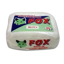 Cx Massa De Biscuit Fox Branca 1kg / 10 Unidades