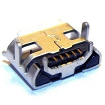 Conector Micro Usb V8 Tablet Cce 5 Pinos Frete 7,00