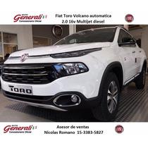 Fiat Toro 0km 2017 Volcano 4x4 2.0 Diesel Automatica #ca1
