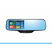 Retrovisor Carro Android Rastreo Gps Dvr 3g 3 Cam Reversa 5¨