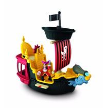 Barco Pirata De Jake Original Disney