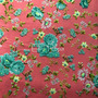 Flores Rosa-Verde (Polilycra)