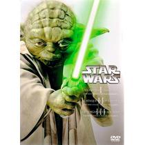 Star Wars Episodios 1, 2 , 3 , 4 , 5 , 6 Peliculas En Dvd