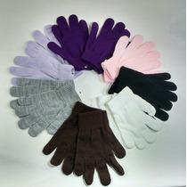 Luvas De Inverno Kit Com 7 Pares De Lã Acrílica