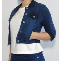 Camperas Mujer Jeans Combinada Elastizada Octanos - Terranov