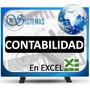 Programa De Contabilidad En Excel,planilla Contable Ven-niif