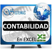 Programa Contabilidad En Excel, Planilla Contable Ven-niif