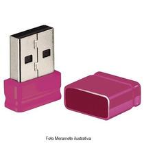 Pendrive Nano 8gb Pd063 Rosa Multilaser