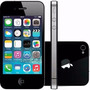 Iphone 4s 8gb Original Anatel Br+nf+capa+película De Vidro
