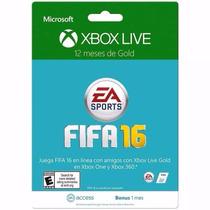 Cartão Xbox Live Gold 12 Meses + 1 Mês De Ea Acces- X360/one