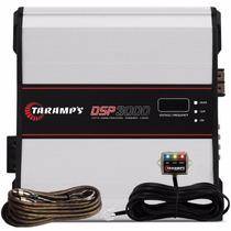 Modulo Taramps Dsp 3000w Rms Processador Digital + Rca