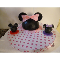 My Little Pony, Minnie, Mickey En Porcelana Fria Adorno