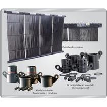 Aquecedor Solar Para Piscinas Placas 3,00 X 0,30 Mts