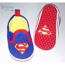 Zapatos Bebe Niño Superman Zapatito