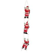 3 Bonecos Papais Noel Subindo Escada - Escalador
