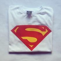 Superman Franelas Camisetas Estampado Serigrafia Personaliza