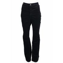 Pantalon Corduroy Mujer Charter Club Negro Talla 8 Clásico