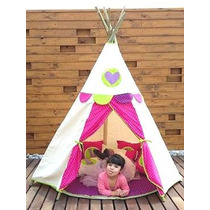 Wappi Teepee Happy G /casita Infantil / Tipi /tipis /teepees
