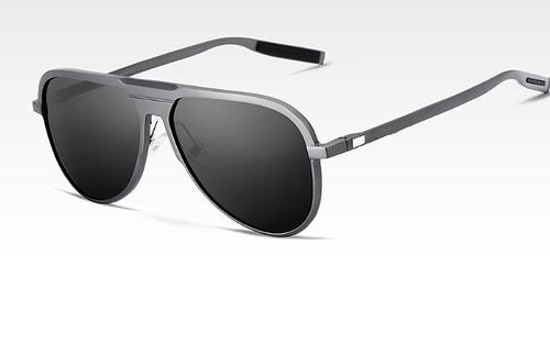 d3bd5db0945bd Óculos De Sol Escuro Masculino Polarizado Pequeno Estojo - R  118