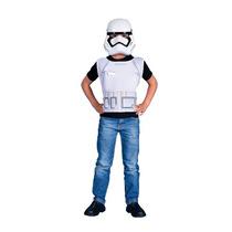 Disfraz Storm Trooper Star Wars Original Pechera Y Mascara