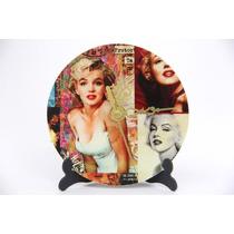 Reloj Marilyn Monroe De Escritorio Con Atril