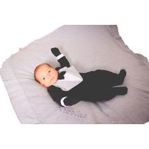 Saída De Maternidade Personalizada - Smoking / Terninho 3pçs