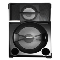 Caixa Som Sony Shake55 Acustica 3 Vias Unitário Black Friday