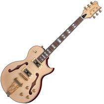 Guitarra Elétrica Semi Acústica Gsh570 Nt Natural Golden
