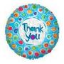 Globo Metalizado Gracias - Agradecimiento De 18 Pulgadas