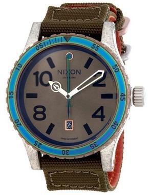 d74ebd39fa2 Relógio Nixon A2691765 Diplomat Dial Marrom - Envio Hoje! - R  749 ...