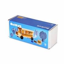 Brinquedo De Madeira - Ônibus