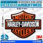 Calcomanias 3d Con Relieve, Accesorio Autos Harley Davidson