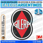 Calcomanias, Stickers, Domes Resinados 3d Logo Gilera