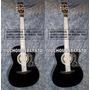 Guitarra Acustica Color Negro Marca Californias - Original