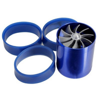 F1-z Turbo Supercharger Dual Propeller Turbina Dupla No Br