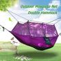 Despacho De Camping Viaje Hamaca Swing Cama Paracaídas