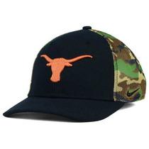Nike Texas Longhorns Ncaa Gorra Camo Hook Unitalla Nva