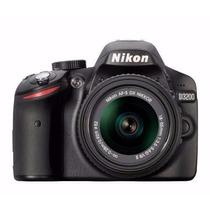 Camera Nikon D3200 Lente Nikkor 18-55 Vr Profissional A7519